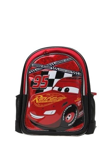 Koton Koton İki Gözlü Cars  Sırt Çantası Kırmızı